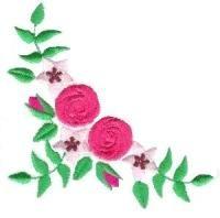 Bullion Roses Small - Aljay Designs   OregonPatchWorks