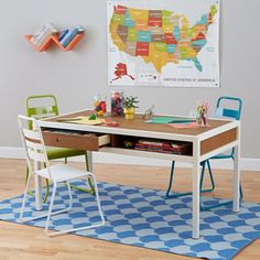 Table & Desk Land of Nod Playtable_HiFi_WAWH_24in_298418