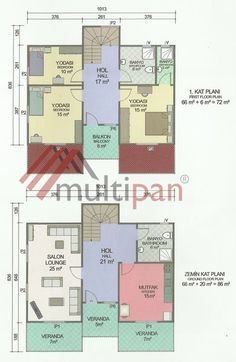 MPX6 158 Square Meters Separate Lounge / Kitchen 3 Bedrooms 3 Bathrooms Prefabricated Houses, Square Meter, Separate, Bathrooms, Floor Plans, Lounge, Future, Kitchen, Pull Apart