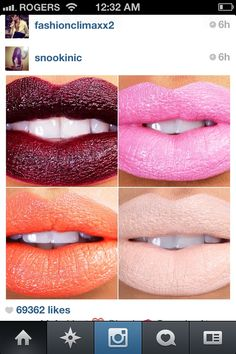 Lip colors