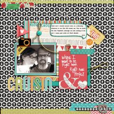 """Cruisin'"" **Credits: Simple Scrapper Premium Membership-Dec. 2013 Template, Single #2; Karen Funk-Wide Washi Tape; Dawn by Design-Corner Wraps_Stamps and Brushes; Audrey Neal/audacious designs-Life Bits, Tiny Type Font; Wild Blueberry Ink-In My Circle No.2; Gennifer Bursett-Toolbox Shadows Vol.1; Jennifer Valencia-Photo Flair Color Wheels; Gennifer Bursett-Anchored_Washi; Wishing Well Creations_Studio Basic-These Moments Collab_Papers, Elements, Journal Cards. **Kits from Pixels and…"