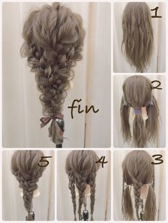 If you want to master it, it& absolutely practical - - frisuren haare hair hair long hair short Box Braids Hairstyles, Party Hairstyles, Wedding Hairstyles, Popular Hairstyles, Fall Hairstyles, Teenage Hairstyles, Modern Hairstyles, Hairstyles Medium Hair, Waitress Hairstyles