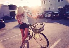 photoshoot, sun, photography, bike, woman, beautiful, yellow, backlight