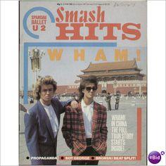 SMASH HITS MUSIC MAGAZINE 8TH MAY 1985 WHAM
