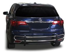 Acura MDX Rear Bumper Guard - Fits 2014-2017 Models :: Protection Accessories :: Rdac-113-51, Silver