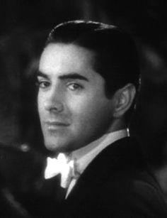 Tyrone Power: Born Tyrone Edmund Power Jr. on May 5, 1914   in Cincinnati, OH /// Our mother was fond of telling us when we were young that our father, at the time of their marriage, resembled Tyrone Power. And here he is--I can see it, too. Odd that a movie star stranger can somehow look so much like someone you know well.