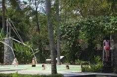 Just Kids Waterfall at Evason Hua Hin, Thailand. http://www.sixsenses.com/evason-resorts/hua-hin/destination