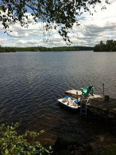 muskoka, ontario, cottage, dock, lake, wilderness, summer, sun