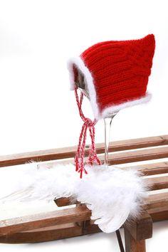 Weihnachtsmütze Babyfotografie ¨¨°º©©º°¨¨ von Lunastern auf DaWanda.com