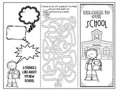The School Counselor Is In: Helping Students Transition to a New School - cute free download