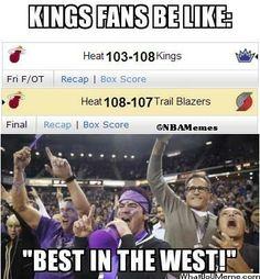 Sacramento Kings Be Like… - http://weheartnyknicks.com/nba-funny-meme/sacramento-kings-be-like #foreverpurple #sacpinparty