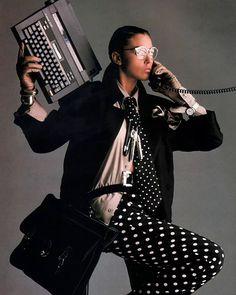 ⚪️⚫️⚪️Vogue, 1980s ⚫️⚪️⚫️ … #80sfashion #retrofashion #80sstyle #80schick…