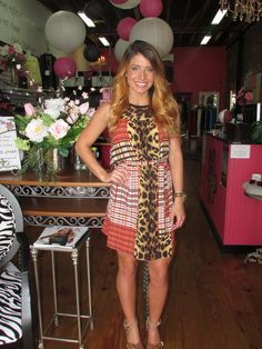 This might not be a gameday dress, but it is still adorable!  www.shopcocobella.com #unclefrank #ivyjane