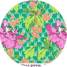 Amy Butler, Violette, Field Poppy Rose