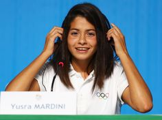 Yusra Mardini: Olympic refugee who swam for three hours to save 20 lives 'overwhelmed' by support