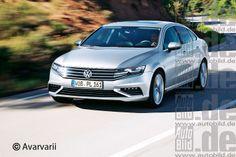 VW Passat (B8) 2014 from Autobild #autobild