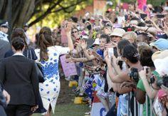 Detalhe para o penteado de Kate Middleton (Foto: Agência Getty Images)