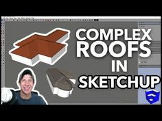 Roof by TIG is a SketchUp extension that allows you to quickly create roofs from faces inside your models. This is much faster than manually creating roofs with native tools. Autocad, 3d Interior Design Software, Google Sketch, Sketchup Woodworking, Sketchup Model, Architecture, Free Design, Essentials, Easy