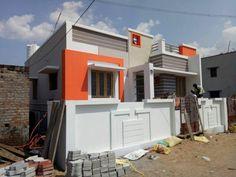 House Outside Design, House Front Design, Modern House Design, 3d House Plans, Modern House Plans, Building Elevation, House Elevation, Exterior House Colors, Exterior Design