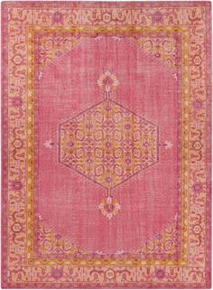Zahra Rug in Pink by Surya