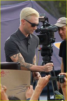 Adam Levine Considers Shaving Head Now With Everyone's Fixation on His Blonde Hair!