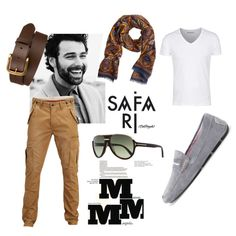 """Manly Touch"" by norahabbal on Polyvore"
