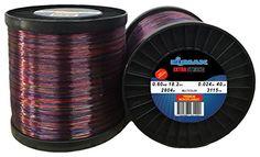 Multicolor Monofilament Fishing Line Elmax 2lb Bulk Spool - Camo 0.024 inch-0.60mm, 40LB-18.2kg test 3115 yd-2804m  http://fishingrodsreelsandgear.com/product/multicolor-monofilament-fishing-line-elmax-2lb-bulk-spool/?attribute_pa_color=camo-0-024-inch-0-60mm&attribute_pa_size=40lb-18-2kg-test-3115-yd-2804m  Premium Monofilament Fishing Line Big Game Super Strong Tournament Reel Bulk Spool