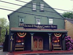 Brown & Hopkins Country Store. Discover one of America's oldest country stores right here in Rhode Island.