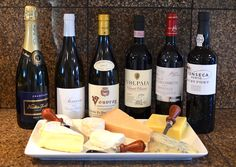 Wine + Cheese Pairings...perfect for holiday entertaining!