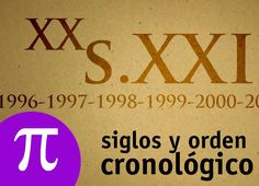 Siglos y orden cronológico San Jose, Videos, Youtube, Signs, Multimedia, Rock, Maths Area, Diy Wedding Decorations, Kids Math