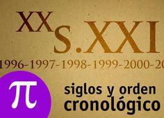 Siglos y orden cronológico