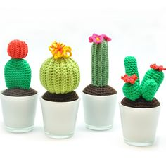 Haakpatroon Cactus - Wolplein.nl