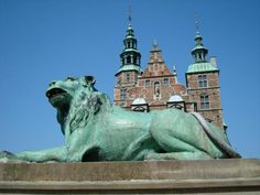 Rosenborg Castle in Copenhagen, Denmark x2