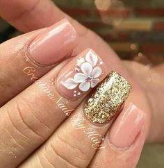 Glam Nails, 3d Nails, Beauty Nails, Acrylic Nails Coffin Classy, Best Acrylic Nails, 3d Nail Designs, Acrylic Nail Designs, Nails Design, Gorgeous Nails