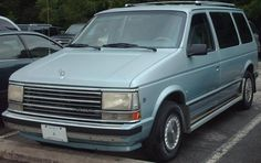1987 Plymouth Voyager SE 3.0 ltr.  This car was Stolen from my home in California in april 2005, Im still looking!