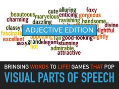 Adjectives Lesson Plans - English Lesson Plans - Parts of Speech Lesson Plans - Powerpoint Slides - ESL. This is a visual powerpoint adjectives lesson plan for elementary students that illustrates adjectives and gives examples of adjectives in sentences. Adjective lesson plans can be adapted for younger students by editing material.