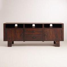 Madera Big Media Cabinet | World Market | Furniture | Pinterest ...