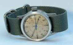 An original COSD-issued military Longines as used by British Paras during WWII.