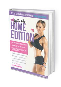 Say hello to the best at-home workout guide you will ever find! This program is great if you cannot get to the gym, but still want a kickass Jessie's Girls workout and nutrition program! The Jessie's Girls Home Edition is probably the most popular program among moms who struggle with finding time to make it to the gym.