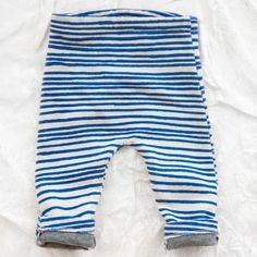 noé & zoë baby pants - blue