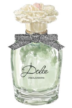 Dolce and Gabbana Perfume Original Illustration by ThePaletteShop Perfume Scents, Perfume Bottles, Dolce And Gabbana Perfume, Perfume Display, Victoria Secret Perfume, Fashion Wall Art, Perfume Collection, Vintage Perfume, Bottle Art