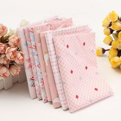 7Pcs Pink Country Style Design Cotton Fabric DIY Household Goods Patchwork Handcraft Sewing Cloth sells at a wholesale price. Buy cheap art cross stitch & embroidery online at newchic.com Mobile.