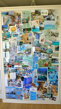 Oldie but Goodie. Post about inspiration boards, #collaging and good #scrapbooking. slimpaley.com