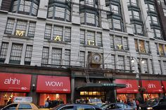 Macy's Department Store--New York City, New York....One whole city block of shopping, shopping, shopping!