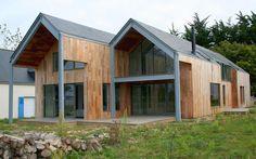 architecte vannes morbihan bretagne maison individuelle groupée ossature bois