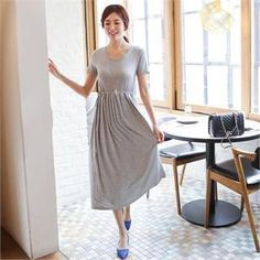 Buy 'ode' – Tie-Waist Maxi Dress' with Free International Shipping at YesStyle.com. Browse and shop for thousands of Asian fashion items from South Korea and more!