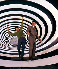 The Time Tunnel (1966) - Time travellers Tony Newman (James Darren)  and Doug Phillips (Robert Colbert)