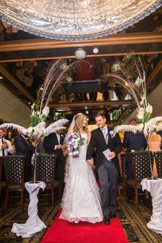 Have a red crapet wedding at Crimble Hall; a manor house wedding venue near Rochdale in Greater Manchester.
