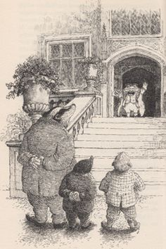 1994. Patrick Benson, illustrator. Kenneth Grahame Society. (Benson also illustrated the sequels written by William Horwood)