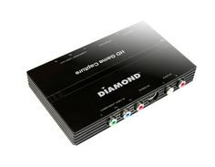 Diamond Multimedia USB 2.0 High Definition (HD) Video Capture Box with Component Video Loop-Through. Capture & Edit Your Games from Xbox 360 & PS3 (GC500). For Windows 10, 8.1, 8, 7